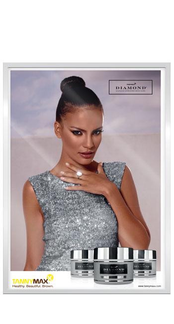 Рекламный постер линии Diamond, A3
