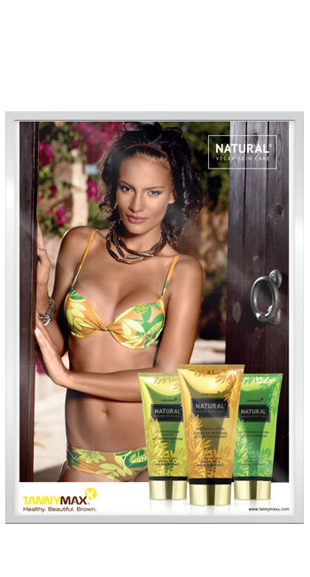 Рекламный постер линии Natural, A3